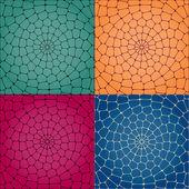 Vector mosaic background.  Vector illustration.
