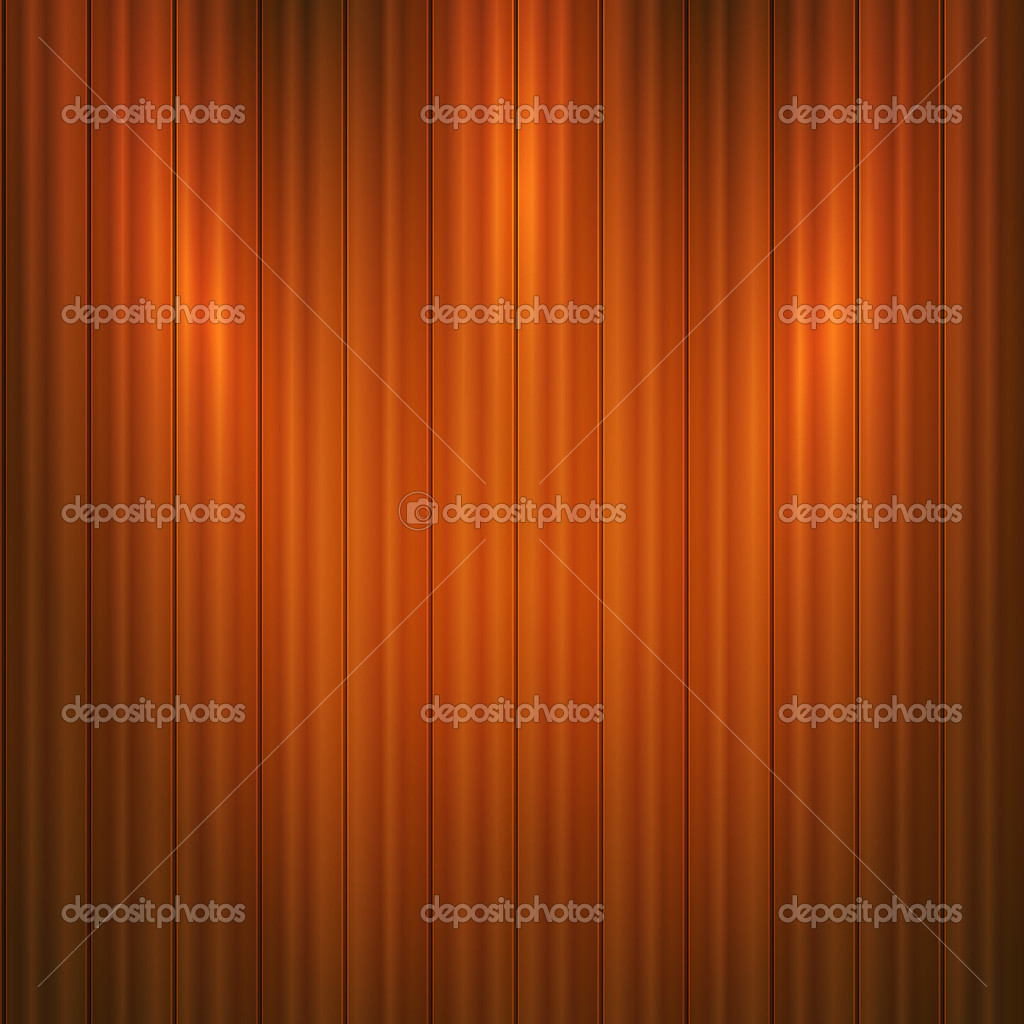 Vector wooden background.  Vector illustration. stock vector