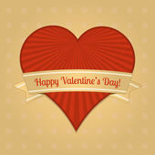 vektor kártya Valentin napra.