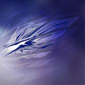 modré pozadí abstraktní vektorová.