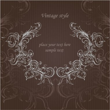 Vector vintage background. Vector illustration. stock vector