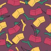 Vektor Hintergrund mit Unterwäsche.