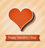vektorové karta pro den svatého Valentýna.