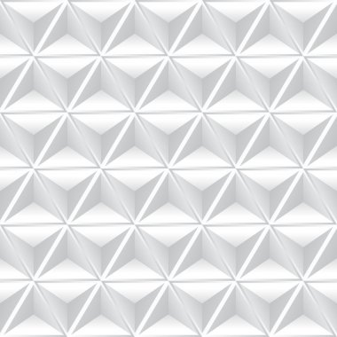 Abstract geometric background with white cubes. stock vector