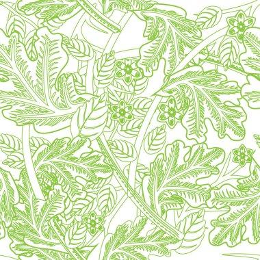 Vector floral background design stock vector