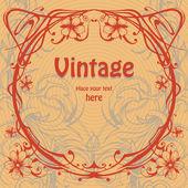 Vector vintage background design