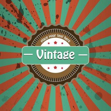 Vector vintage background. Vector illustration. stock vector