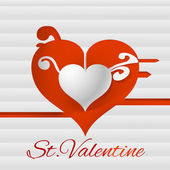 Vector background for Valentines day.