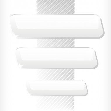 Vector white background. Vector illustration. stock vector
