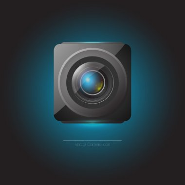 Vector web camera icon. stock vector