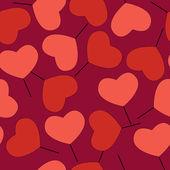 Valentýn pozadí se srdcem.