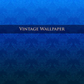 Vector vintage wallpaper. Vector illustration.