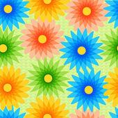 vektor háttér virágokkal.