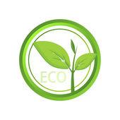Vektor eco ikonra. Vektoros illusztráció.
