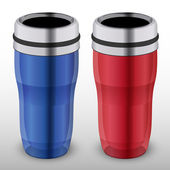 Vector illustration of thermo-cups.