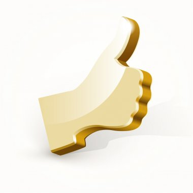 Vector golden best choice sign. stock vector