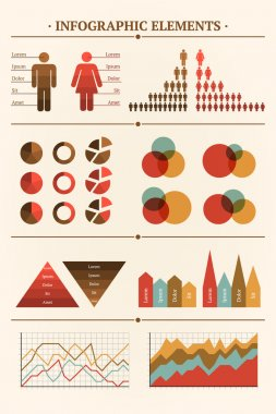 Big Vector collection of Infographic elements for your documents stock vector