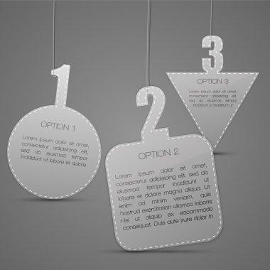 Vector badges. Vector illustration. stock vector