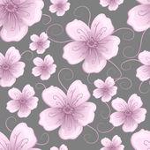 Vektor virág alnyomatban