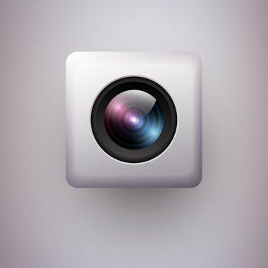 Web camera icon. Vector illustration. stock vector
