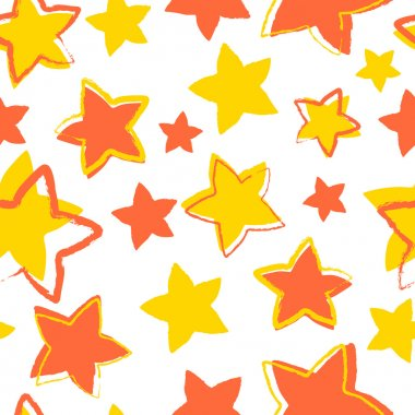 Vector background with stars. stock vector