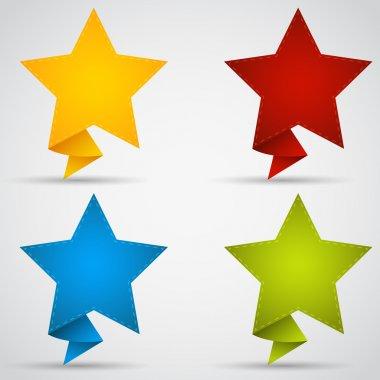 Stars vector. Vector illustration. stock vector
