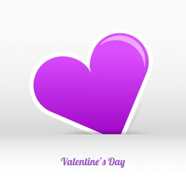Vector valentines day card stock vector