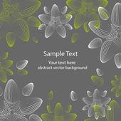kiváló varrat nélküli virágos háttér - vektor-illusztráció