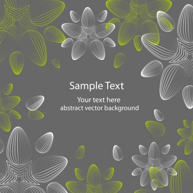 Excellent seamless floral background - vector illustration stock vector