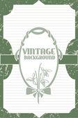 Vektor Vintage Hintergrund mit Blumen