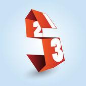 A számok egy-, két- és három