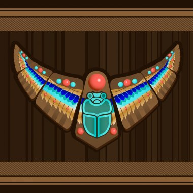 Bird - Native american art stylization