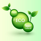 eco icon. Vector illustration.