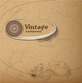 Vector-vintage háttér. vektoros illusztráció.