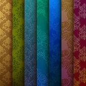 pozadí multi-barevné záclony