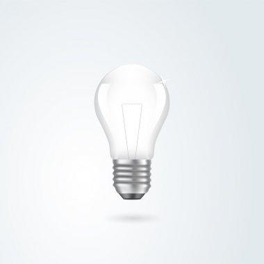 Light bulb. Vector illustration. stock vector