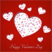 Srdce pro Valentýna pozadí
