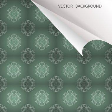 Vintage background, vector design stock vector