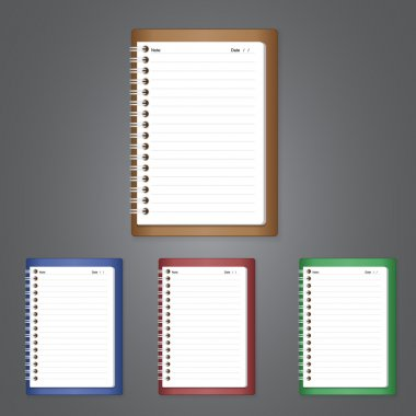 Notebook of vector design stock vector