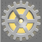 Vektorzahnrad. Getriebe