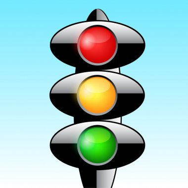 Traffic light vector design
