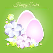 Happy Easter Card, vector design