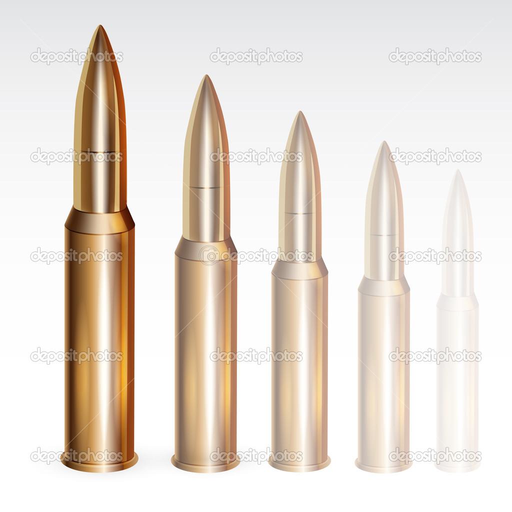 Bullets of vector design stock vector