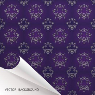 Vintage background. vector design stock vector