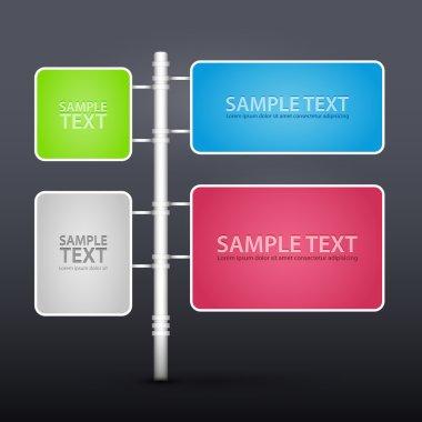 Design elements, vector design stock vector