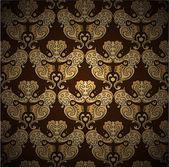 Seamless damask vector pattern
