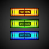 Vector set of colorful buttons.