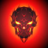 vector design of Skull