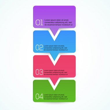 Modern Design template. Graphic or website layout vector stock vector