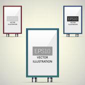 Vektoros illusztráció, óriásplakát